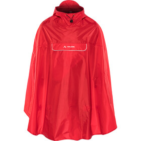 VAUDE Valdipino Poncho, indian red